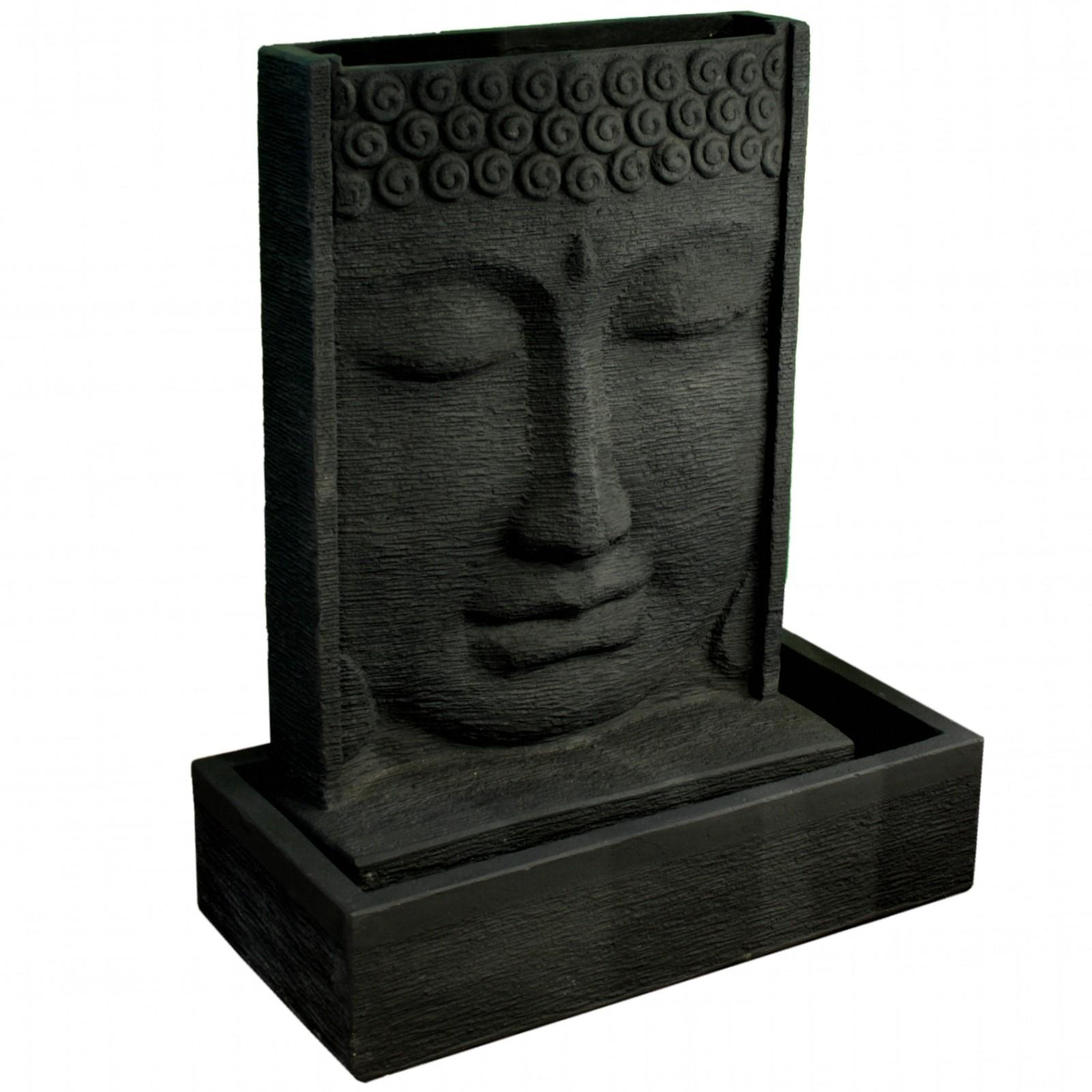 Buddha brunnen 125 cm hoch 118311 - Gartenbrunnen buddha ...