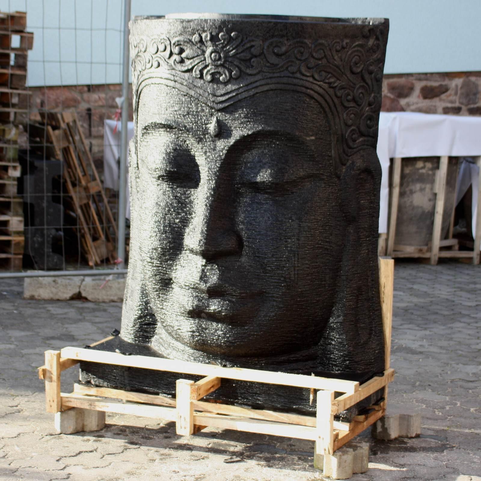 buddha brunnen 150 cm hoch 118668. Black Bedroom Furniture Sets. Home Design Ideas