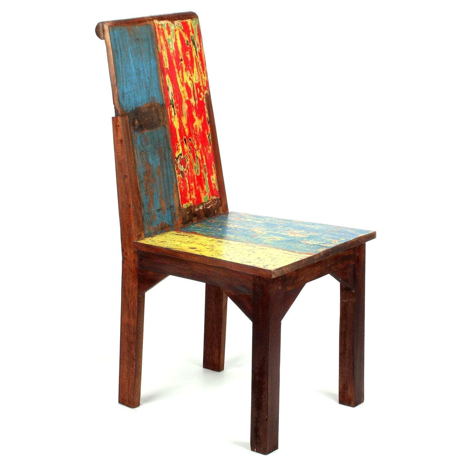 stuhl aus teak bootsholz 118827. Black Bedroom Furniture Sets. Home Design Ideas
