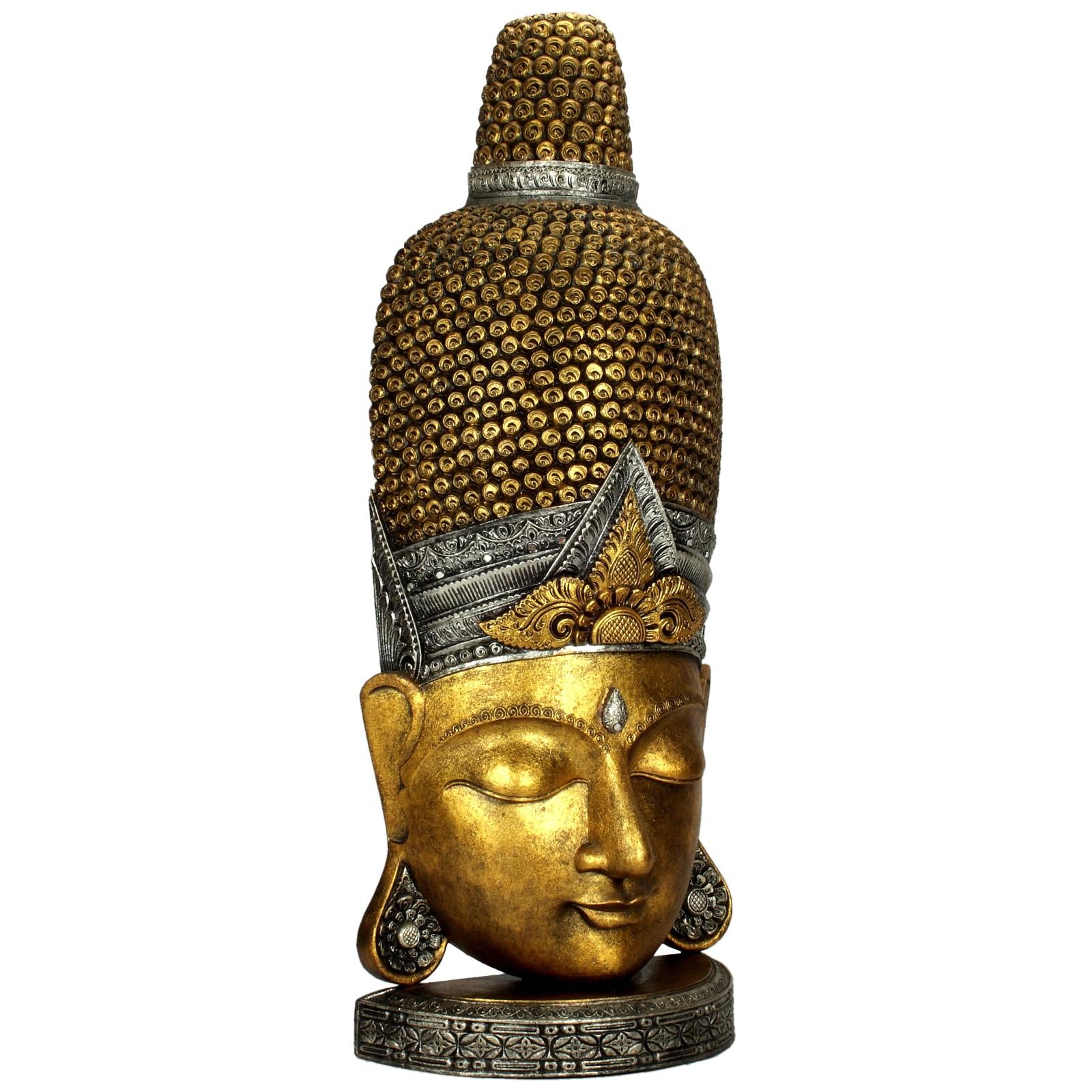 buddha figur buddha kopf ca 135 cm 118930. Black Bedroom Furniture Sets. Home Design Ideas
